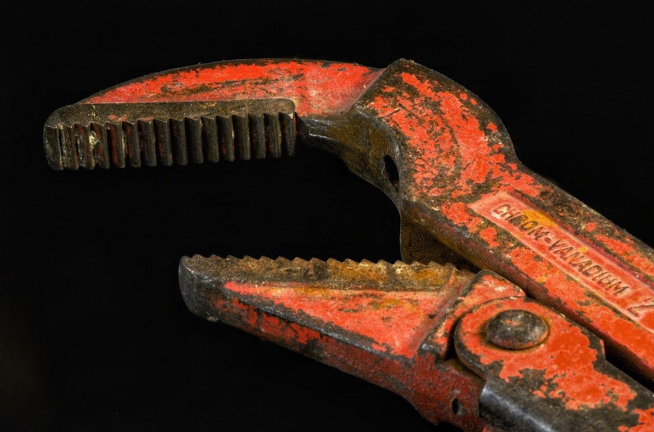 Pipe wrench in Hilversum